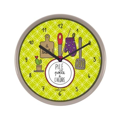 Horloge CHRONOS Pile poêle