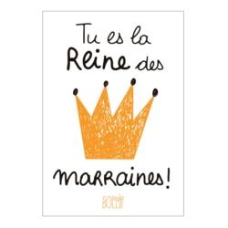 Magnet ISA Reine des marraines