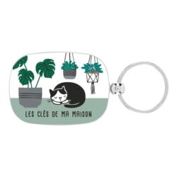 Porte-clés OPAT Ma maison chat