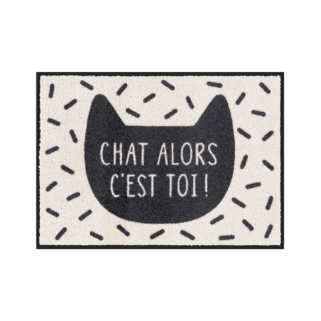Tapis de patio LEMIYO Chat alors