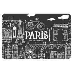 Set de table Paris mon amour