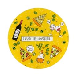 Plat à pizza (+ roulette) PATA Tranquille