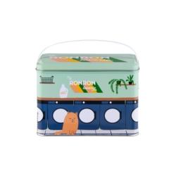 Boite à Pinces à linge (+ crochet) Ronron laverie