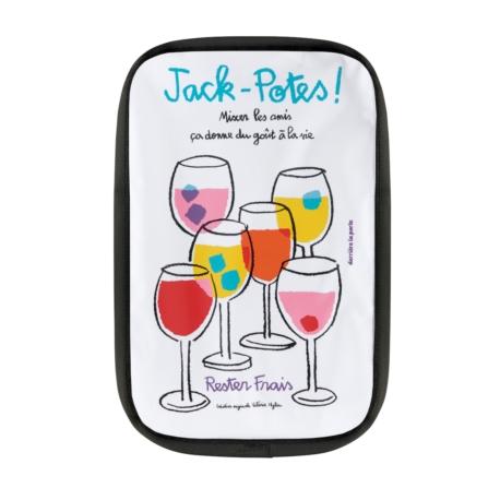 Rafraîchisseur bouteille FRIZ Jack-potes