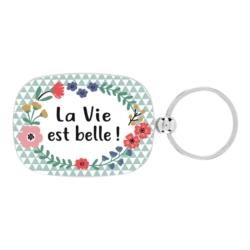 Porte-clés OPAT Couronne fleurie