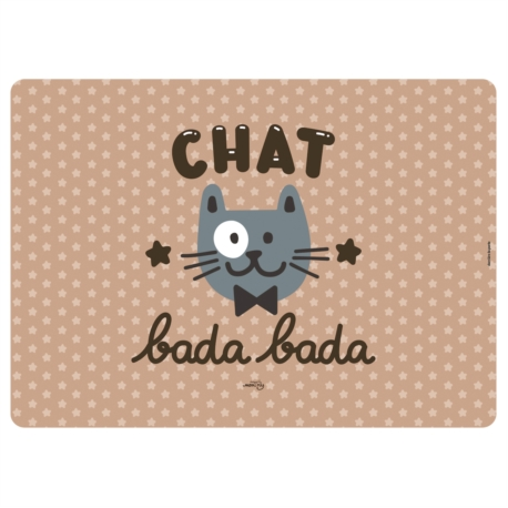 Tapis chat KIKI Chat bada bada