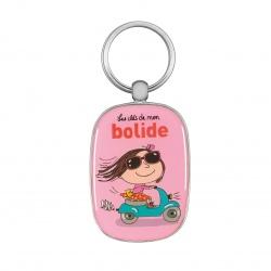 Porte-clés OPAT Bolide - rose