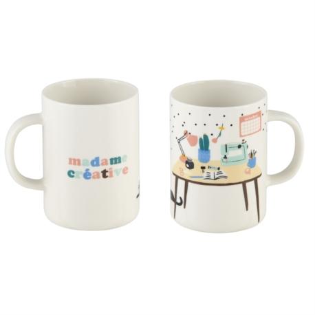 Mug MAURANE Madame créative