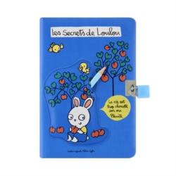 Carnet de secrets AMY (+cadenas et crayon) Loulou écolo
