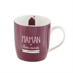 Mug LEMAN (+ boite) Maman bien aimée