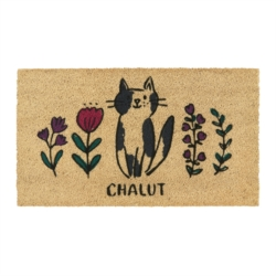 Paillasson COCO/PVC Chat chalut