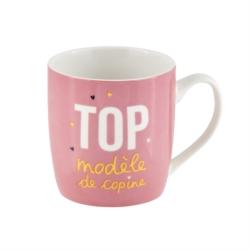 Mug LEMAN (+ boite) Top modèle de copine