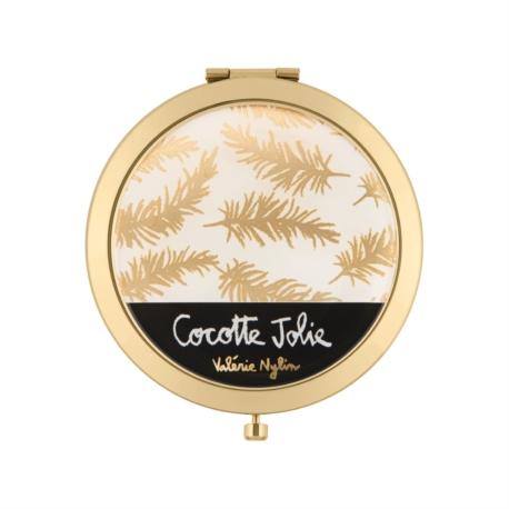 Miroir de poche LAURENCE Cocotte jolie