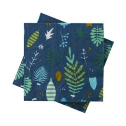 Serviettes papier (lot de 20) Herbier