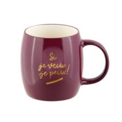 Mug ORBE (+ boite) Si je veux je peux
