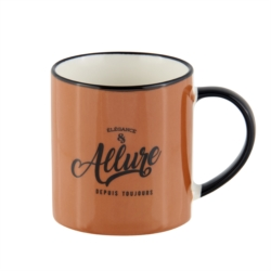 Mug ADISCIO (+ boite) Allure marron