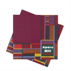 Serviettes papier (lot de 20) Apéro mix