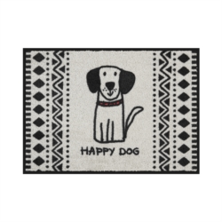 Tapis de patio LEMIYO Happy dog