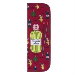 Trousse pour aiguilles à tricoter RHESE (garnie) Couture cactus