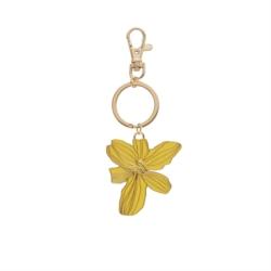 Porte-clés MANSOT Fleur jaune