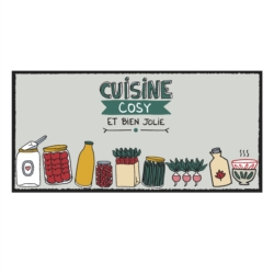 Tapis de cuisine APSE Moments