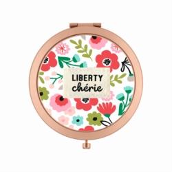 Miroir de poche LAURENCE Liberty chérie