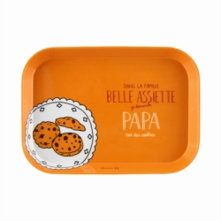 Plateau IOTA Famille belle assiette Papa