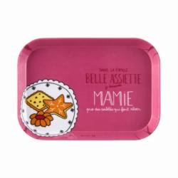 Plateau IOTA Famille belle assiette Mamie