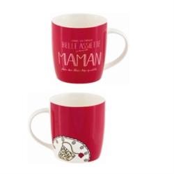 Mug LEMAN (+ boite) Belle assiette Maman