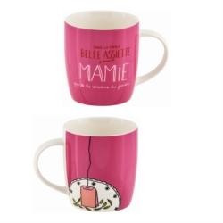 Mug LEMAN (+ boite) Belle assiette Mamie