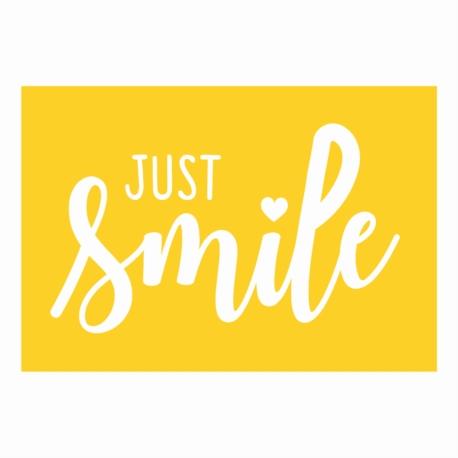 Magnet ISA Just smile jaune