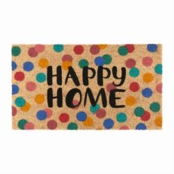 Paillasson COCO/PVC Happy home pois