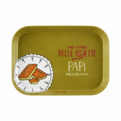 Plateau IOTA Famille belle assiette Papi