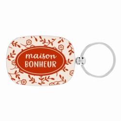 Porte-clés OPAT Maison bonheur