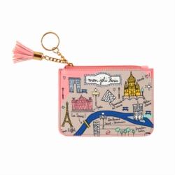 Porte-monnaie TRIPLE fonctions Mon joli Paris