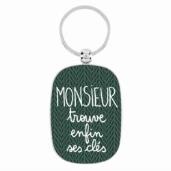 Porte-clés OPAT Monsieur trouve