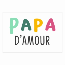 Magnet ISA Papa d'amour