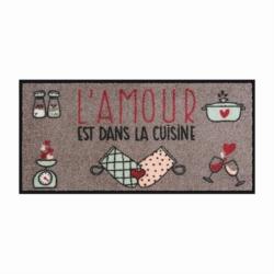 Tapis de cuisine APSE L'amour est dans la cuisine