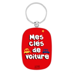 Porte-clés OPAT Mes clés de voiture