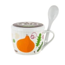 Bol à soupe PERMAN (+ couvercle) Soupe de saison