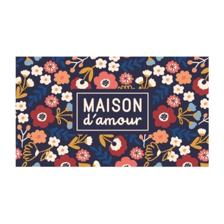 Paillasson COCO/PVC Maison d'amour