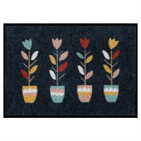 Tapis de patio LEMIYO Tulipes
