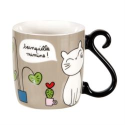 Mug HOUBA Le bonheur c'est chat!