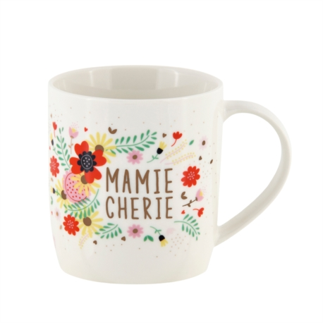 Mug LEMAN (+ boite) Mamie chérie