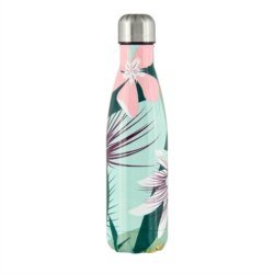 Bouteille isotherme GUILLAUME Fleurs exotiques
