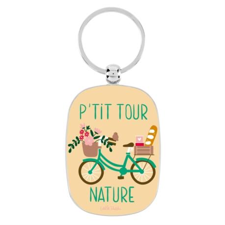 Porte-cles OPAT Bicyclette P'tit tour nature