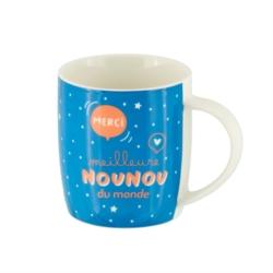 Mug LEMAN (+ boite) Meilleure nounou du monde