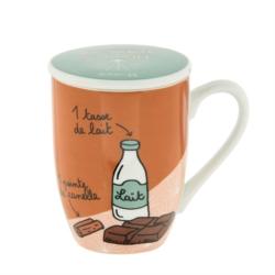 Mug MEUNIER (+ couvercle) Mon choco