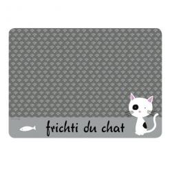 Tapis chat KIKI Frichti - gris