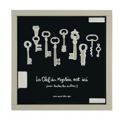 Armoire à clés Mystère - noir